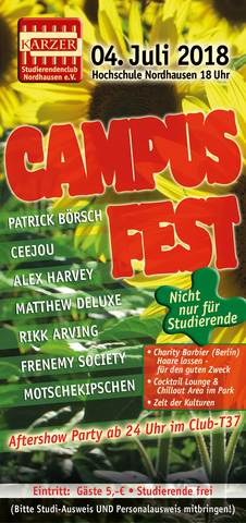17 Campusfest2018 Flyer front